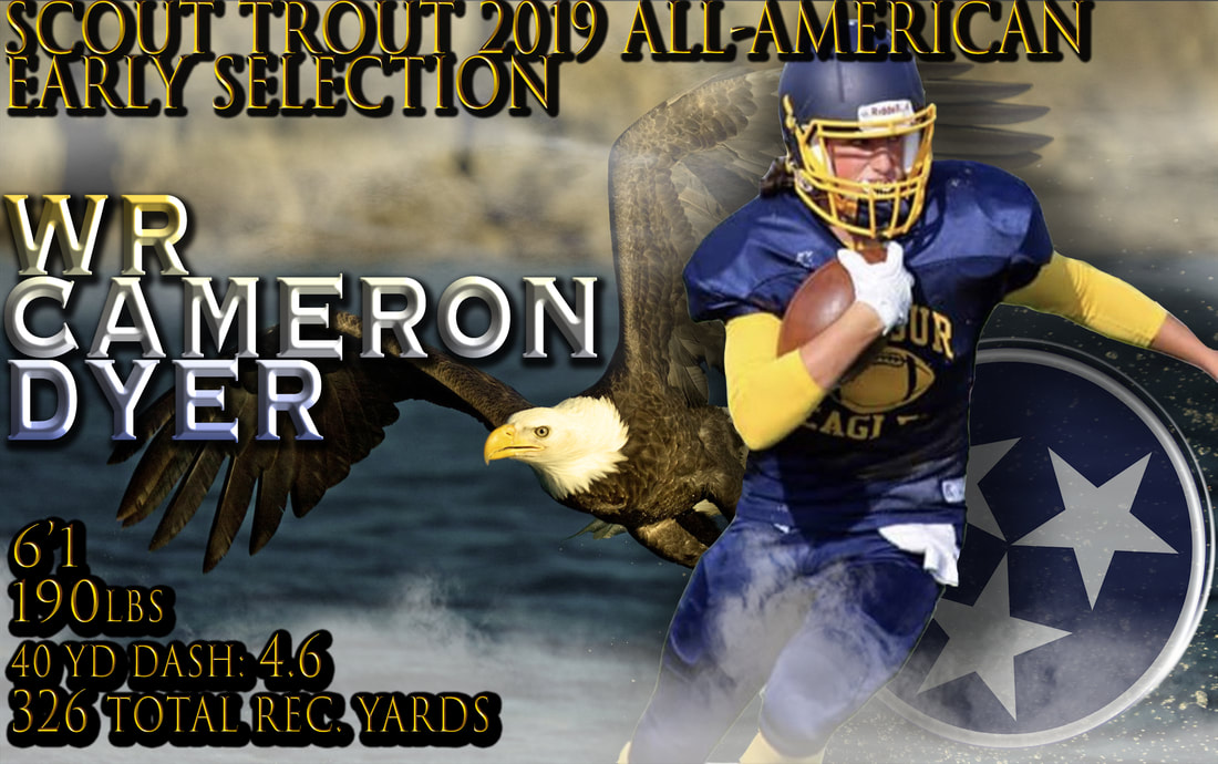 Cameron Dyer, Seymour High School, College Football, CFB,  Combine, NFL Draft, NFL