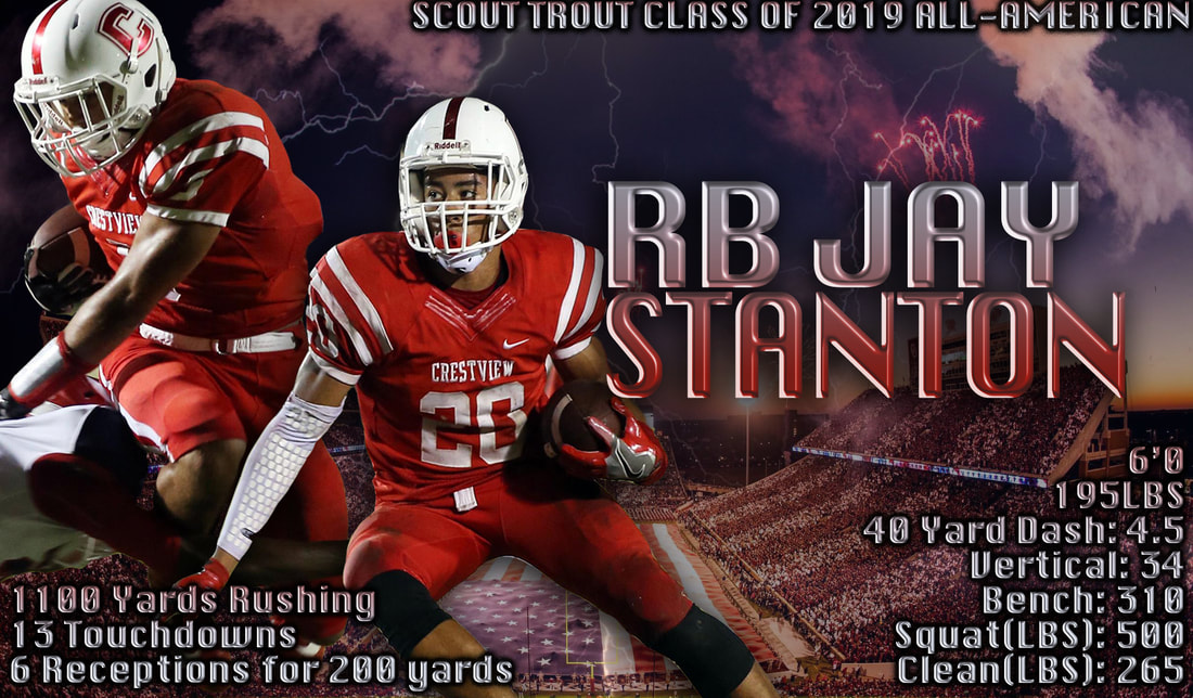 Florida All-State Running Back, All-American HS RB, College Football Recruit, College FB Prospect, ESPN Top 300, 247 Sports Recruiting, Jay Stanton, Under Armor All-American, Scout Football, College FB Scouting Report, HS Footbal Scouting Report