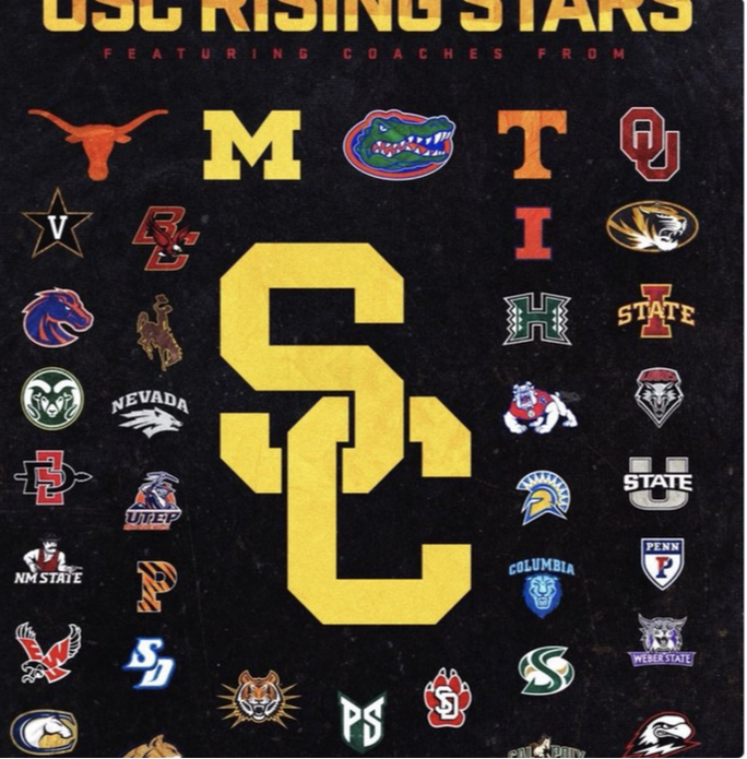 USC Football Rising Stars Camp, College Football Recruiting, USC Football Recruiting, Texas Longhorns FB, Oklahoma Football, Florida Football Recruiting, Iowa State Football, Boise State Football recruiting,